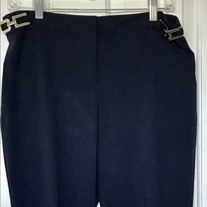 Ellen Tracy deep navy pants